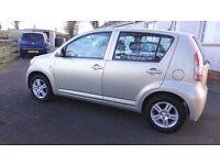 07 Daihatsu Sirion 1.0 SE 5 Door **£30 per year tax**
