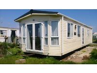 PART EXCHANGE YOUR TOURER MOTORHOME OR RV FOR A STATIC CARAVAN SITED ON QUIET 12MTH PARK @ MORECAMBE