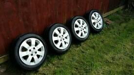 Corsa c sxi alloy wheels