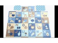 26pcs XL Large Alphabet EVA Floor Mat Baby Room Jigsaw ABC Foam Puzzle