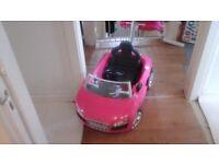 Children's Audi push Buggy Car