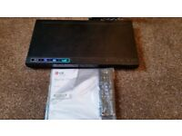 New Blue Ray DVD player & Recorder with original company remote & manual worth 59 only for 39
