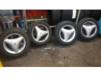 "14"" ALLOY WHEELS"