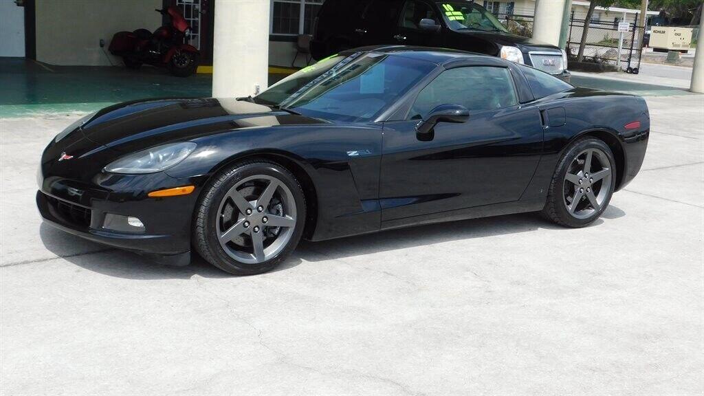 2006 Black Chevrolet Corvette  Z51 | C6 Corvette Photo 2