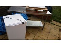 Cafe closing clearance Job Lot 16 outdoor chairs, freezer, panini grill, dishwasher, tabling, juicer