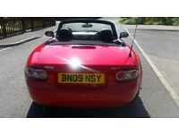 Mazda MX5 1.8 2009 with 12 mths MOT and 59k miles