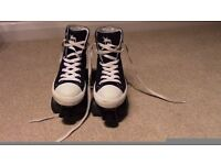 Girls Converse Style Roller Boots/Skates - Size 3