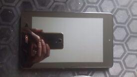 """7"""" white acer tablet"""