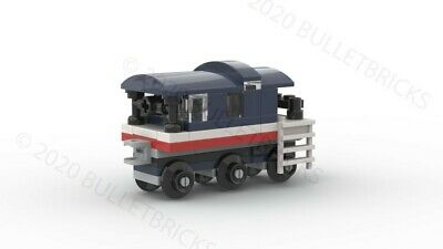 CUSTOM LEGO TRAIN CABOOSE for the POLYBAG set #30575 INSTRUCTIONS