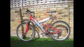 Saracen d-tox mountain bike full suspension