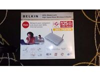 Belkin ADSL Modem with High-Speed Mode Wireless G Router