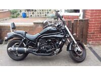 Hyosung GV650 Motorcycle Cruiser