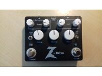 Dr Z 'Z Drive' Dual Overdrive Guitar effects pedal