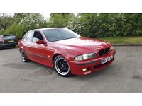 BMW 528I M-SPORT AUTO IMOLA RED TOP SPEC STUNNING CAR LOOKS AND DRIVES MINT PX WELCOME
