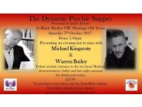 Psychic Supper at The Blackmarket VIP Lounge Hastings