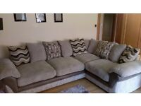 Harveys grey lullabye corner sofa