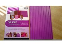 Crafter's Companion Multi score board and tool with instructions for card making
