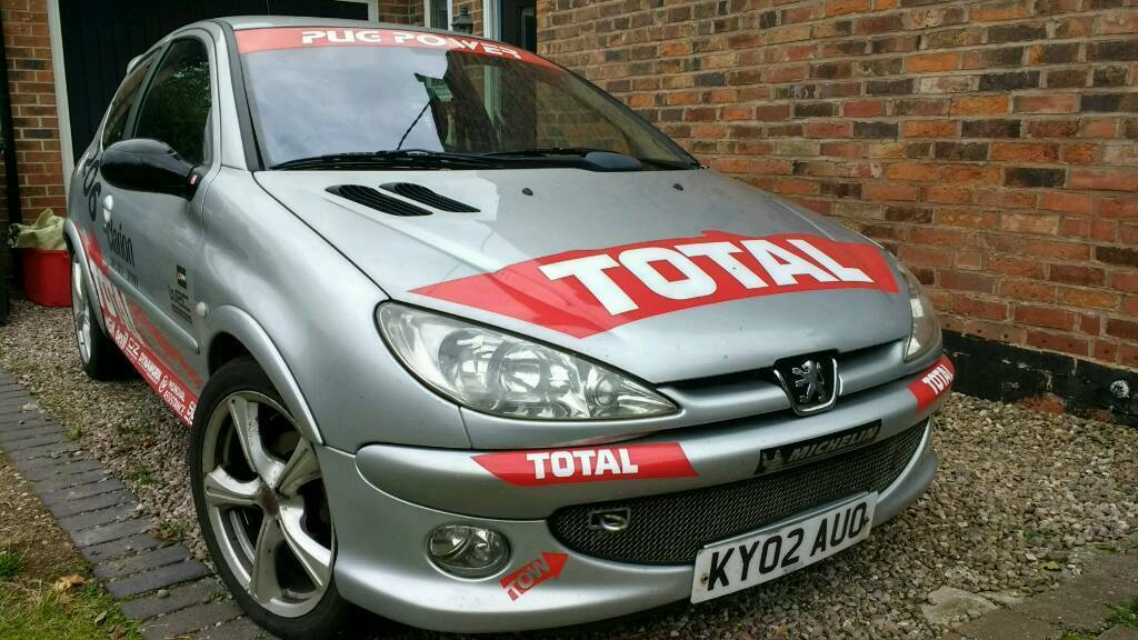 peugeot 206 gti wrc rally recreation in swadlincote derbyshire gumtree. Black Bedroom Furniture Sets. Home Design Ideas