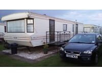 3 BED CARAVAN TO RENT ON CORAL BEACH INGOLMELLS SKEGNESS NEXT TO FANTASY ISLAND AND ATTRACTIONS !