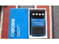 BOSS CS-3 COMPRESSION SUSTAINER For Sale.