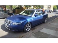 2003 Audi A4 Convertible 2.4 Automatic