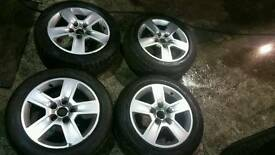 "16"" 5x112 audi alloy wheels fit to vw audi seat skoda"