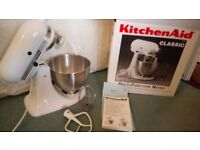 Kitchen Aid, Immaculate, With Attachments