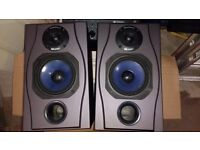 Soundcraft Spirit Absolute 2 Stereo Studio Monitors and Speakers