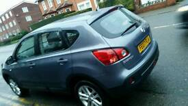 Nissan Qashqai Tekna 2wd cvd (semi automatic) with panoramic roof and leather seats