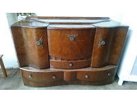 Antique/vintage styled drinks unit (delivery available)