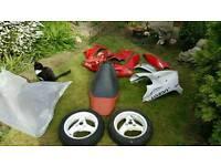 Peugeot speedfight parts