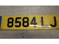 Cherished Registration Number plate - 8584 LJ - Free Transfer