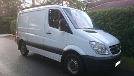 mercedes sprinter 290 cdi swb low roof new shape 07 plate lots spent need gone quick no vat