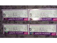 2 Paolo Nutini Tickets Hogmanay 2016