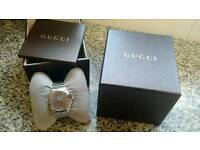Gucci timeless Gentleman's watch. Boxed with certificate