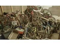 Job lot of approx 30 bikes