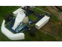 Tkm go kart rolling chassis frame