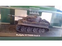 SCALE MODEL GERMAN PANZER TANK