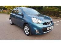 2015 January Nissan Micra 1.2 ACENTA 5d £30 ROAD TAX!! 13,284 LOW MILES!!