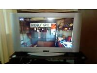 """Crown 32"""" LCD TV. With Brand New Free View Box"""