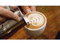 Trained barista available for week end