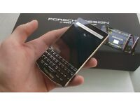 BlackBerry Porsche Design P9983/P'9983 Carbon,full box,authenticity card,SWAP with iPhone,Samsung...