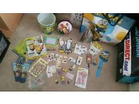 Joblot minion despicable me toy game fun lot
