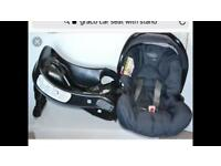Graco car seat with stand