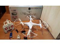 M-tech/ Syma SKY BIG DRONE PRO quadcopter multirotor camera 2mp WI-FI not Dji phantom 3 pro or advan