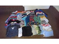 60 Item Boy Clothes Bundle, 12-18, 9-12, 6-9 months, see description
