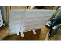 Slimline electric radiator