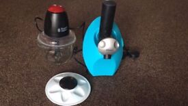 Russell Hobbs desire 380w mini chopper & frozen dessert maker £10 each or both for £15