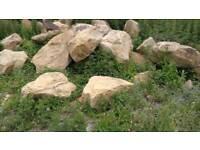 Large Pieces Sandstone Rock 4-5ft