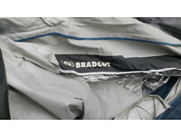 Bradcot accord caravan awning with poles and ground sheet